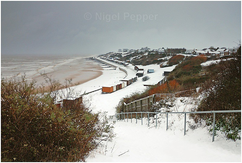 Winter View to Frinton - Snow Pictures