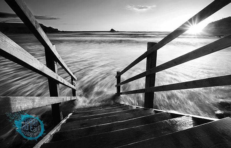 Steps To Nowhere - Black and White