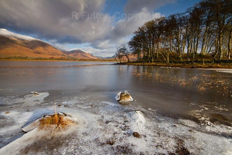 Frozen Loch - Landscapes