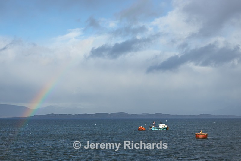 Rainbow Over The Beagle Channel - Punta Arenas