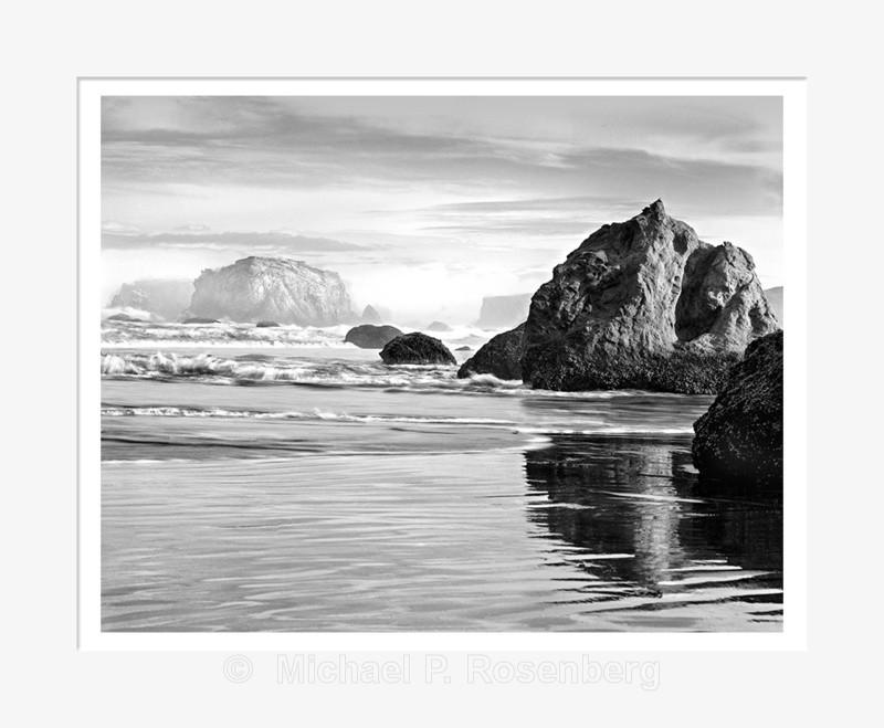 Receding Sea Stacks, Bandon Beach OR (2013/6140) - Pacific Coast