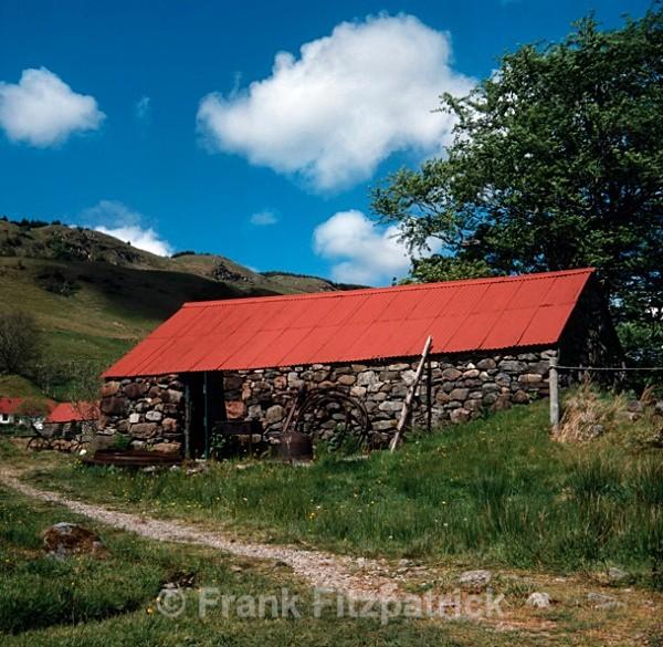Bulls house and kiln, Auchindrain crofting museum - Highland