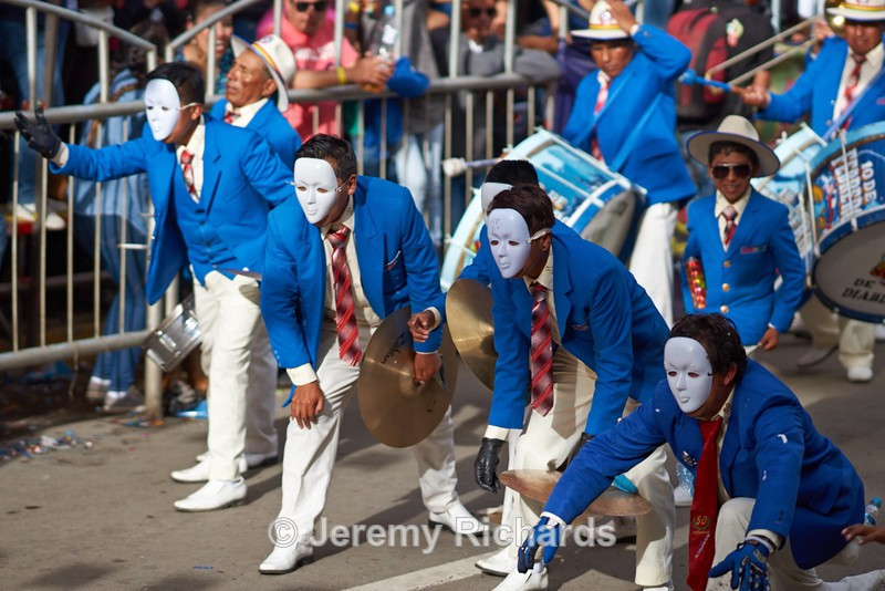 Band of a Tobas Dance Group - Oruro Carnival 2017