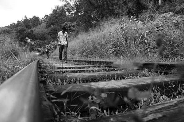 Sri Lanka train tracks _67 - Sri Lanka wildlife, people & places