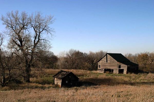 The Flood Farm - Barns & Remnants
