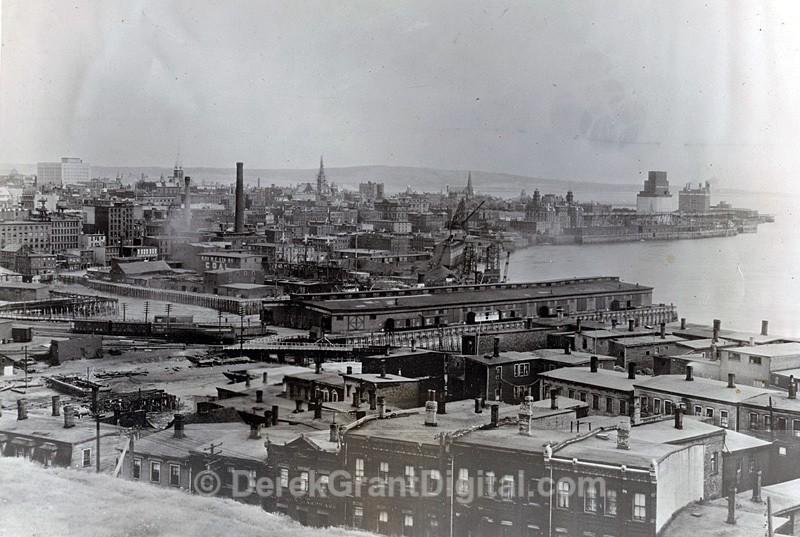 Early 1930s view of Saint John New Brunswick Canada - Historic New Brunswick