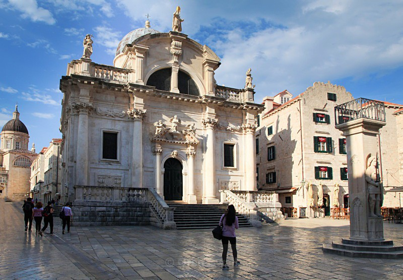 Church of St Blaise, Dubrovnik - Croatia Road Trip