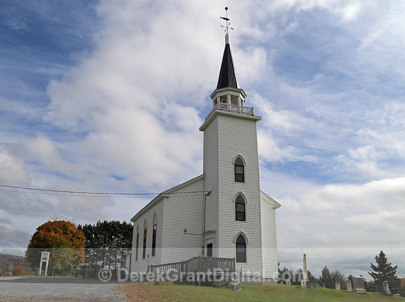 St. Peter's Anglican Church ~ Upham, New Brunswick Canada - Churches of New Brunswick