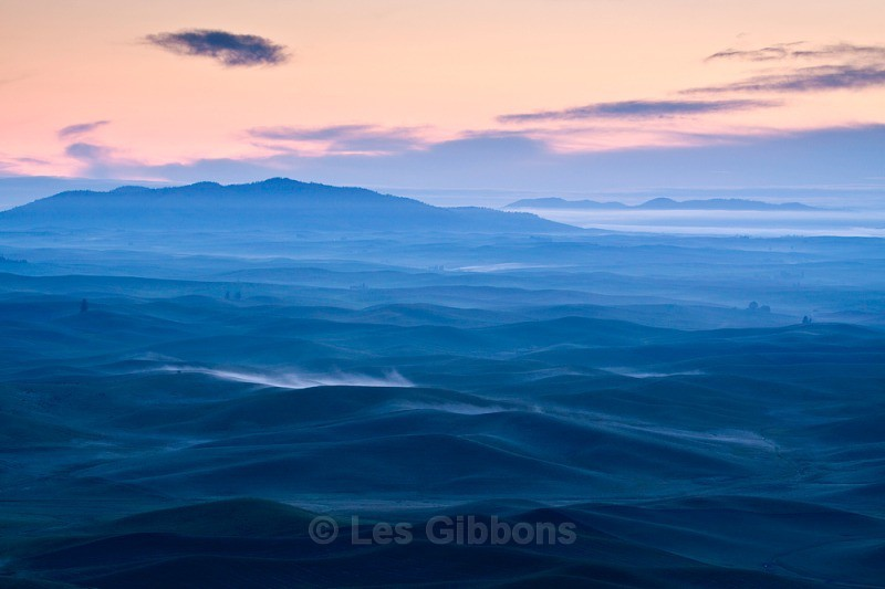 Dawn over Palouse - Palouse