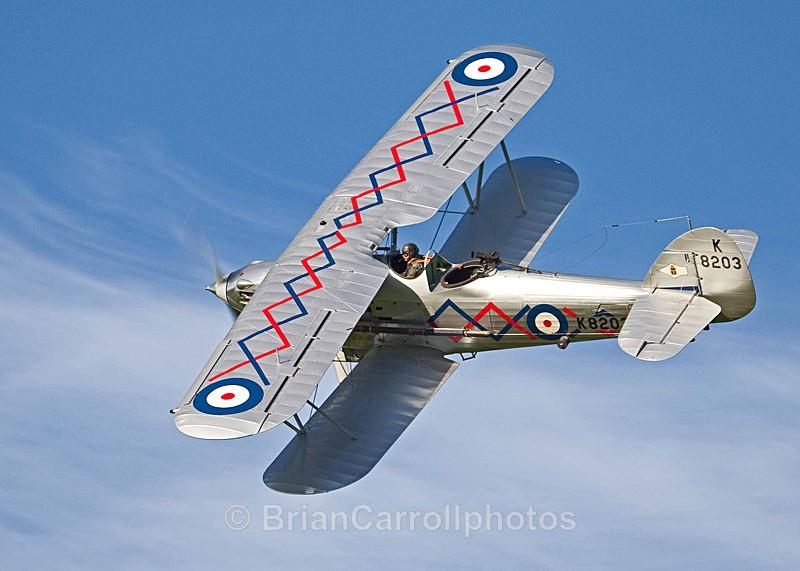 Hawker Demon G-BTVE
