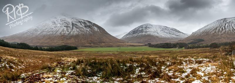 Auch Gleann Panorama - Other UK Landscapes