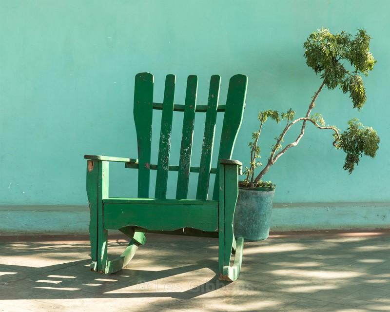 green chair2 - Cuba