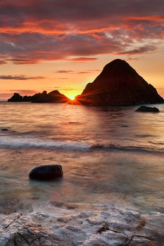 White Park Bay Sunset