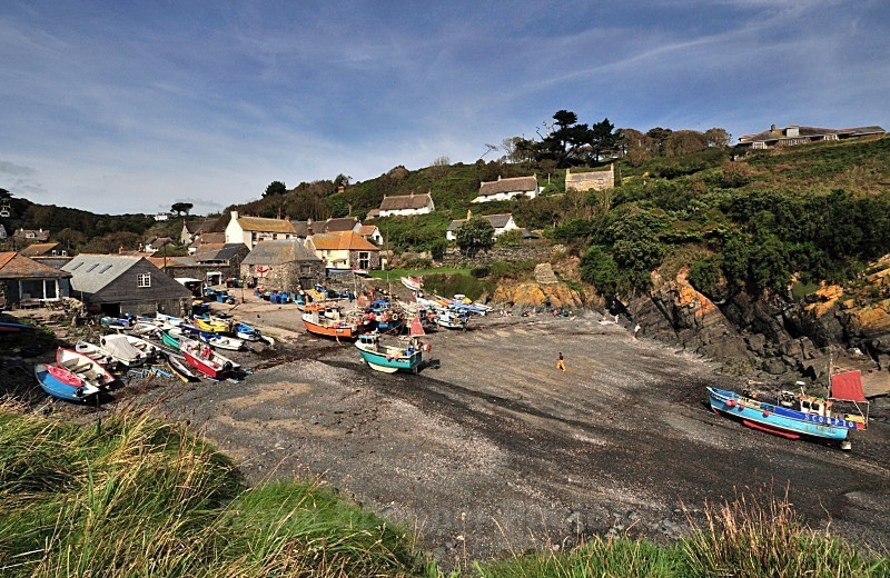 Cadgwith Cove  Boats - Cornwall Misc