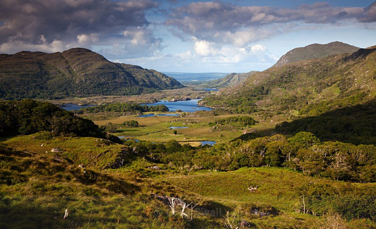 Ladies View - Landscapes of Ireland - Kerry Lakes and Mountains