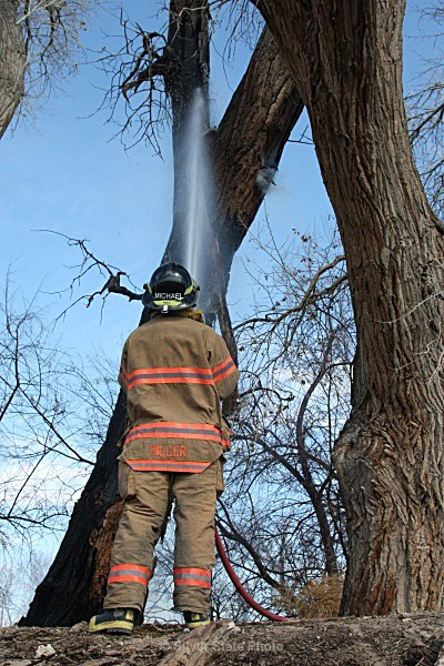 Getting the Water to the Flames - Fallon/Churchill Fire Department