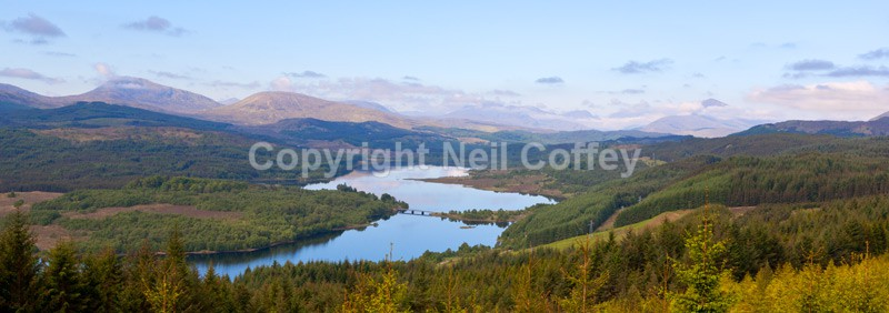 Glen Garry, Highland - Panoramic format