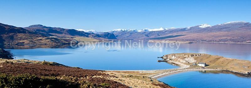 Loch Eriboll, Highland - Panoramic format