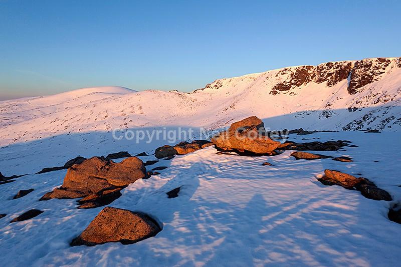 Cairn Gorm and Coire an Lochain, Cairngorms - Landscape format