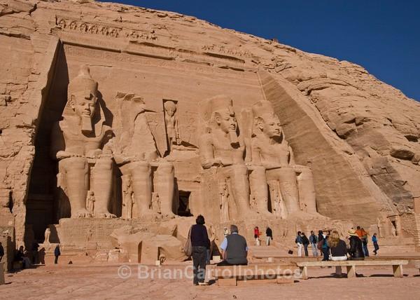 Ramses 2 Temple at Abu Simbel,Egypt - Egypt Nile Tour 08