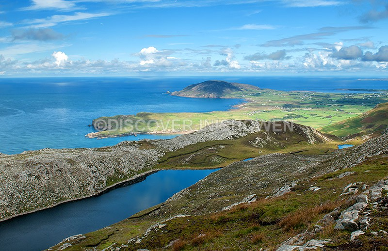 View from Urris Hill - Inishowen peninsula