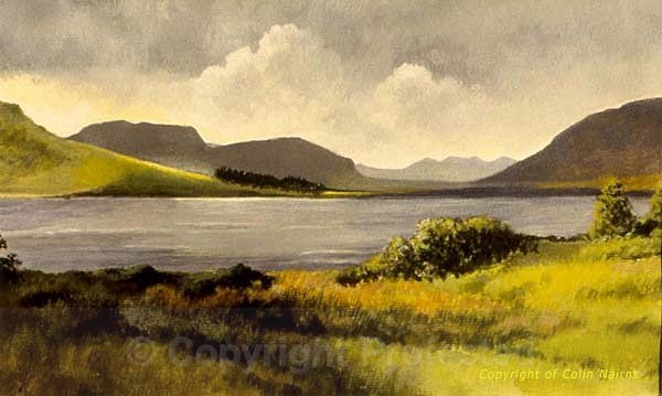 'Loch Droma, Wester Ross' - Landscapes