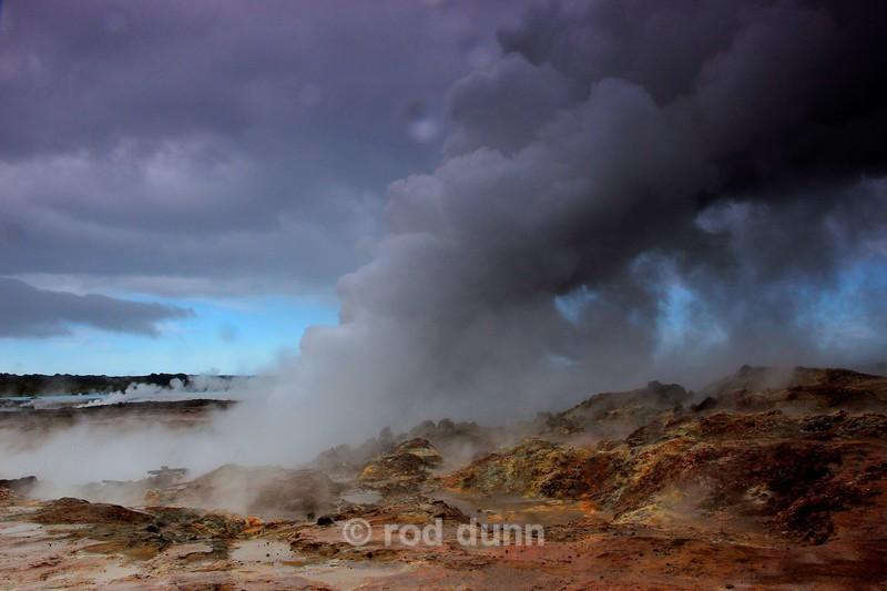Gunnuhver geothermal vent - Iceland