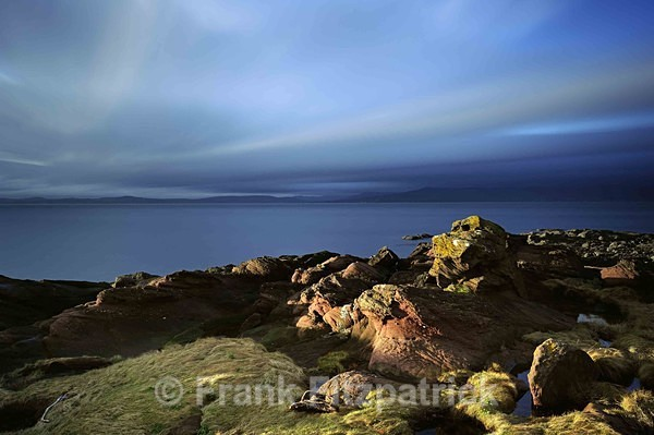 Dusk in December. Meigle Bay, Skelmorlie, North Ayrshire, Scotland. - Scottish scenics
