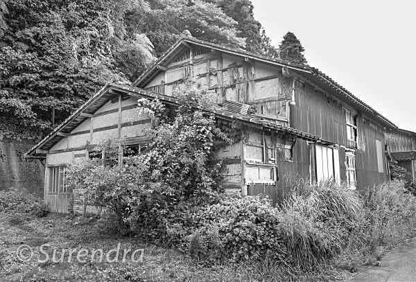 Sado Island Haikyo - Buildings in Decline