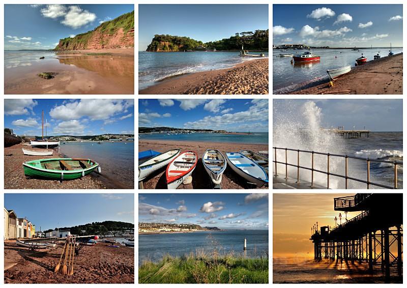 TS32 - Postcards views of Shaldon and Teignmouth - Greetings Cards Teignmouth and Shaldon