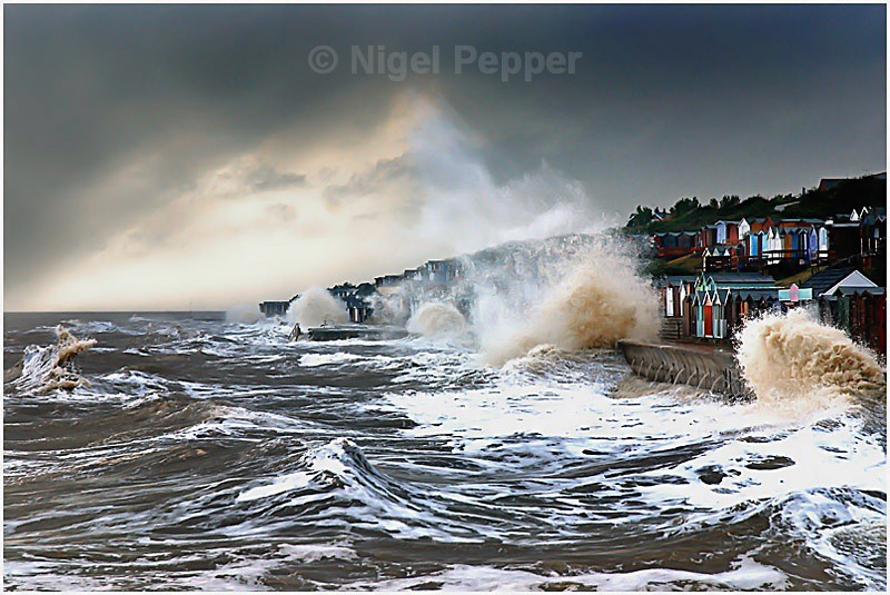 Angry Sea - Dramatic Weather