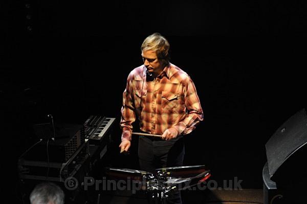 Benge at the sound check - John Foxx & The Maths