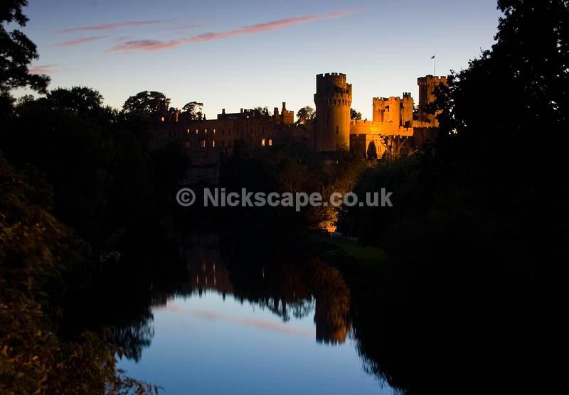 Warwick Castle at night | Warwickshire Photography Gallery