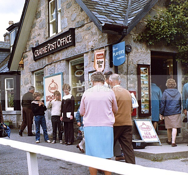 Crathie Post Office-1969-70 - Land and Sea