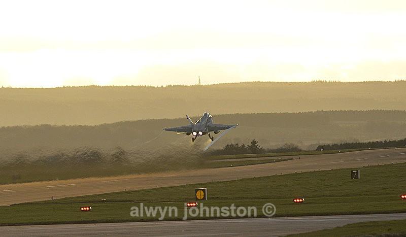 F-18 C 5 - RAF LOSSIEMOUTH VISIT NOV 2017
