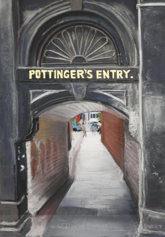 Pottinger's Entry - Paintings