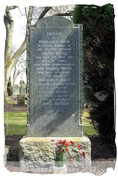 Harry Bruce 2 - Sleepyhillock Cemetery