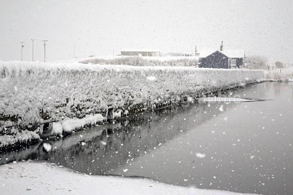 Harray loch bridge stenness loch snow dec 10 IMG_6364 - Orkney Images