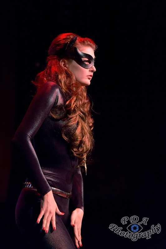 33 Millie Dollar in Burlesque Show Born to be Wild