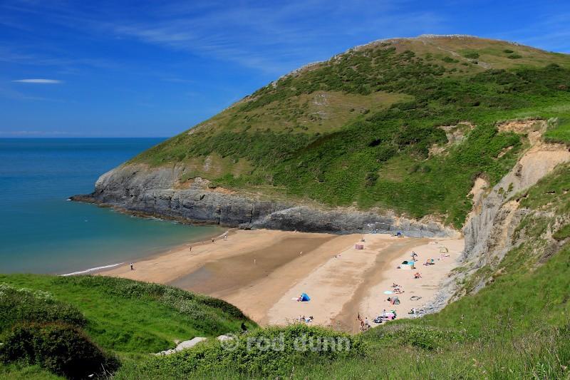Mwnt Bay - Wales