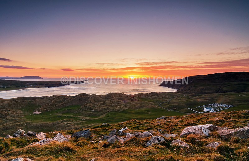 View from Cranny Hill - Inishowen peninsula