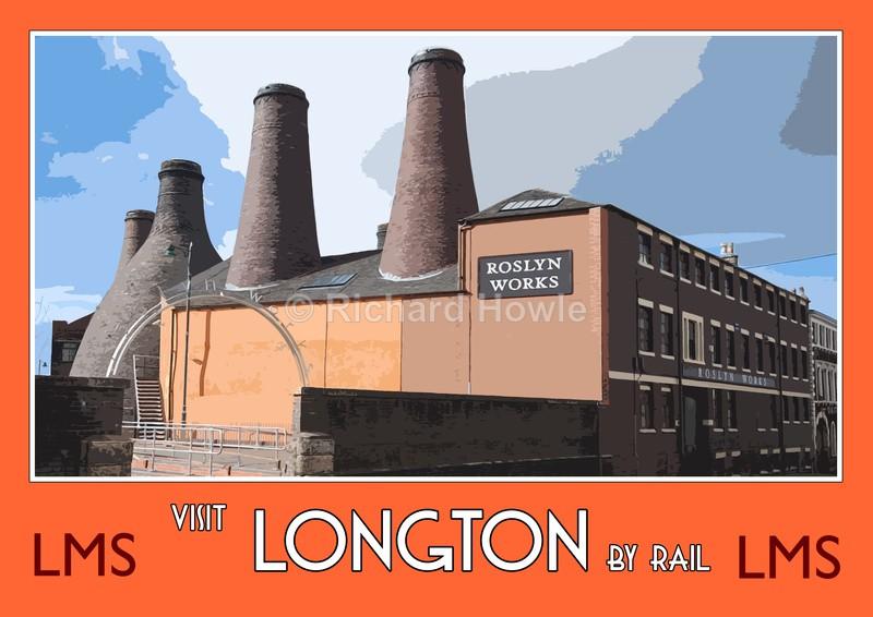 Longton - Railway Posters