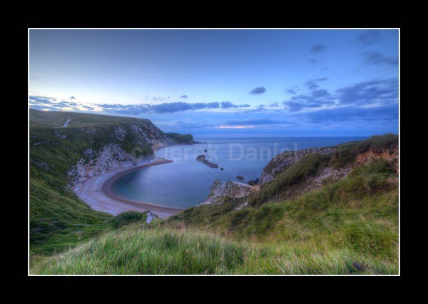 Man O'War Bay at Sunrise - Dorset