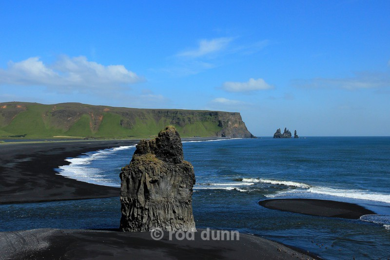 Reynisdranger from Dyrholaey - Iceland
