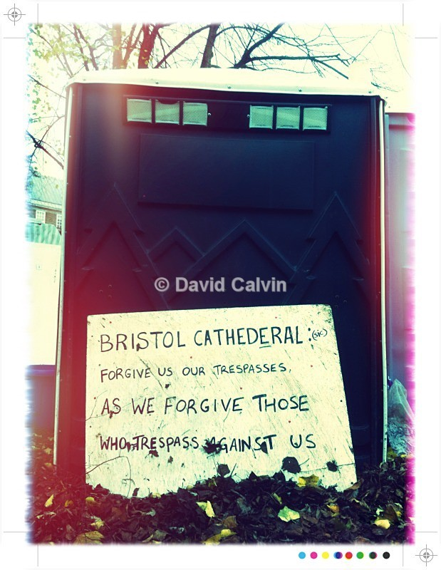 Portaloo (Forgive Us) - Occupy Bristol
