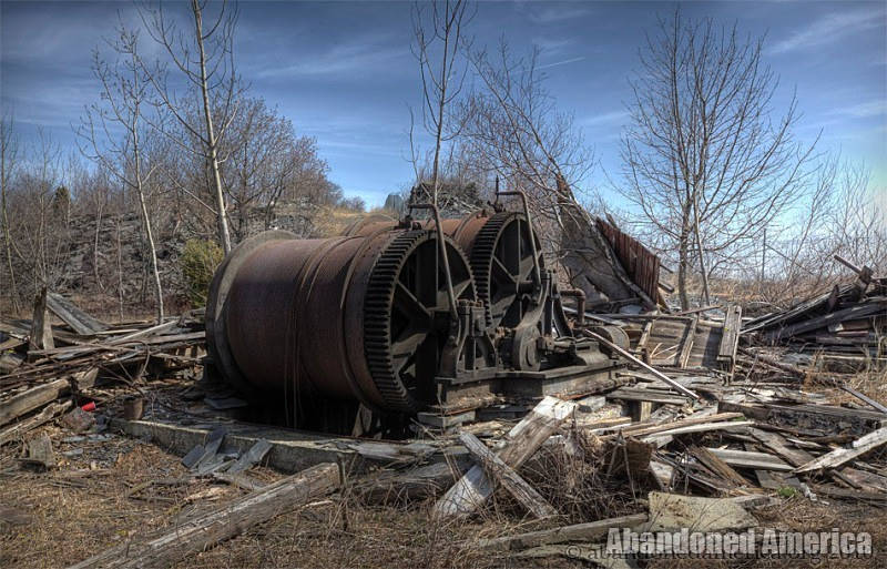 Abandoned Slate Quarry - Matthew Christopher's Abandoned America