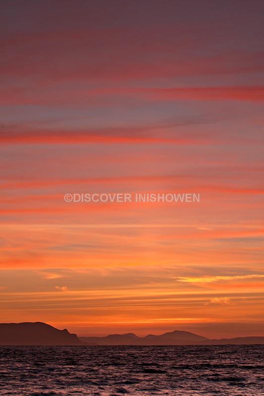 Sun pillar - Inishowen II