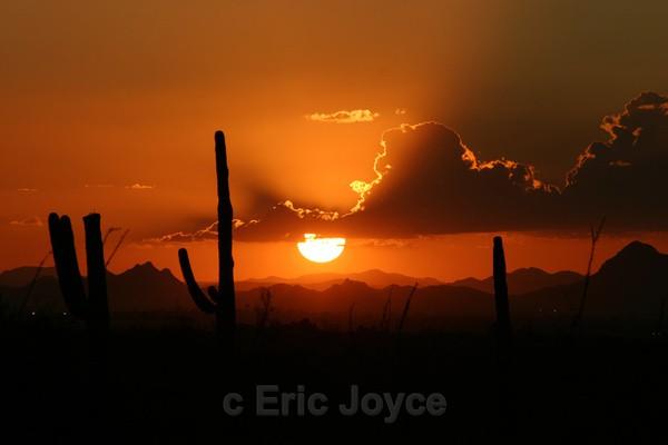 Autumn Sunset - Tuscon, Arizona