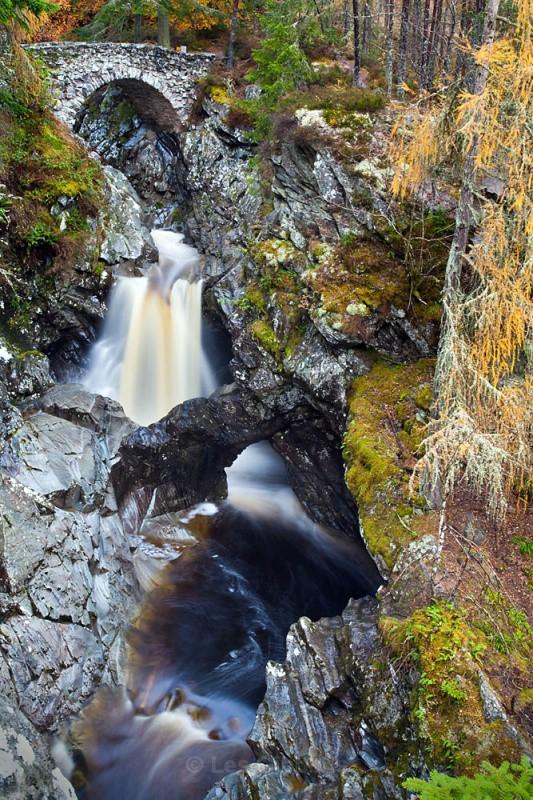 bruar falls - Perthshire