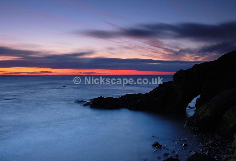 Sea Arch - Cullercoats Bay - Northumberland